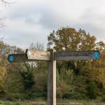 Cranford Park Signpost